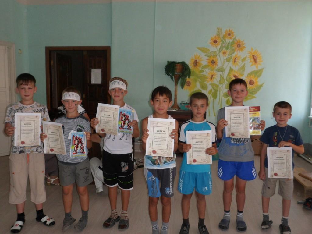 Конкурс смекалистых в лагере